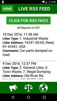 Henderson KY Litter Tracker screenshot 3