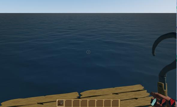 Raft Survival Evoled Ark 3D screenshot 1