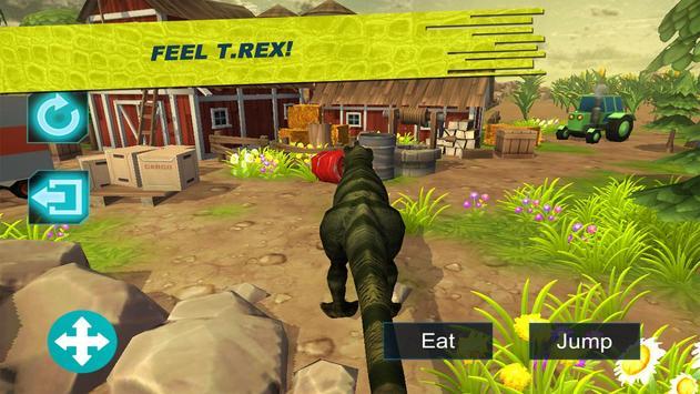 Dinosaur T-Rex Zoo FREE poster