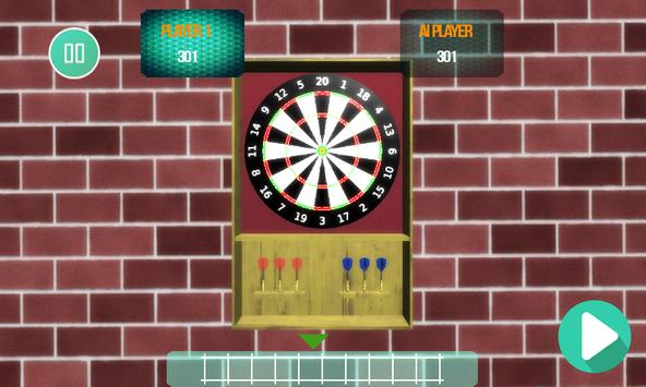 The Darts Game Super Dart 3D screenshot 1