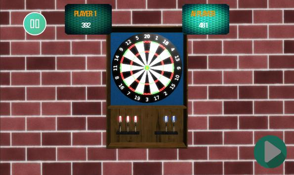 The Darts Game Super Dart 3D screenshot 2