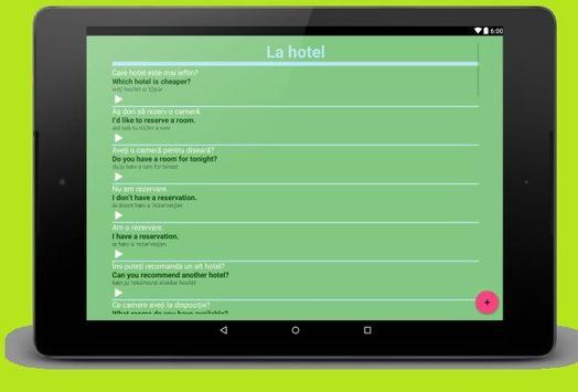 Limba Engleza Gratis apk screenshot