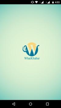 WhatKhabar poster