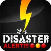 Disaster Alert icon
