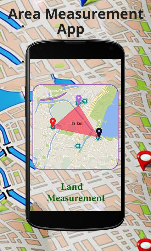 Land and Distance Calculator Fields Area Measure for Android - APK Distance Map App on