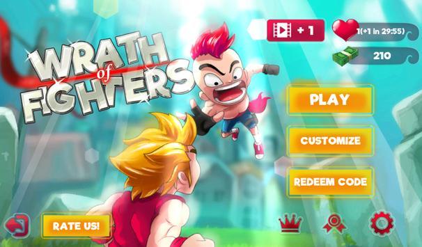 Wrath of Fighters apk screenshot