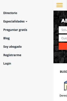 Directorio de Abogados Mexico screenshot 2