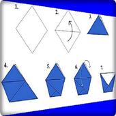Diy Origami Tutorial icon