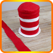 Diy Cat in The Hat Costume icon