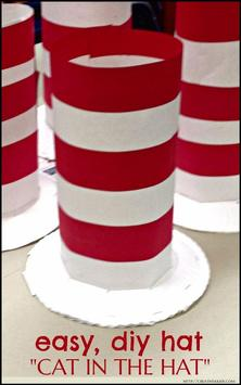 Diy Cat in The Hat Costume screenshot 3