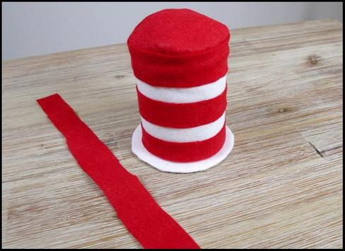 Diy Cat in The Hat Costume poster