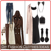 Diy Fashion Clothes Ideas icon
