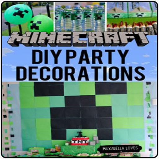 Diy Minecraft Party Decorations For Android Apk Download