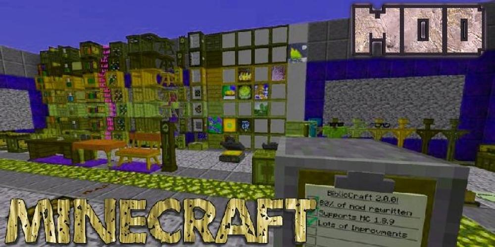 BiblioCraft Mod Minecraft for Android - APK Download