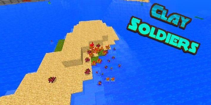 Clay Soldiers Mod Minceraft screenshot 2