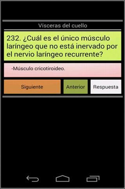 Anatomía preguntas de examen Descarga APK - Gratis Medicina ...