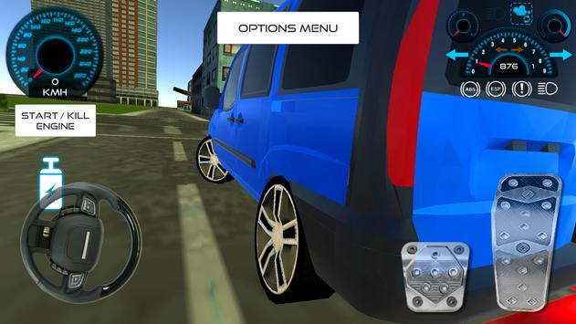 Doblo Driving Simulator apk screenshot