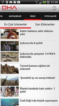 Doğan Haber Ajansı apk screenshot