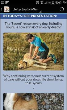 Dog Food Secrets screenshot 1