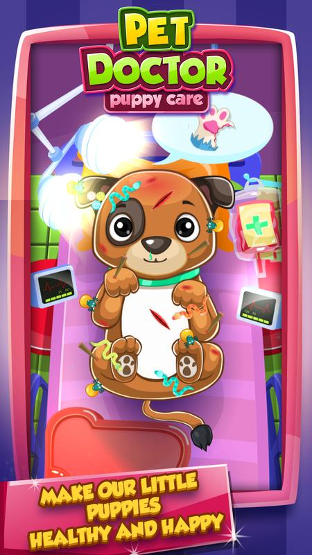 Puppy Doctor Pet Vet Games For Android Apk Download