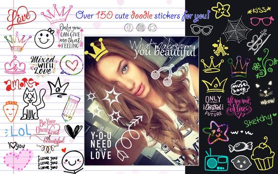 Doodle Photo Editor 😜 Stickers for Pictures screenshot 12