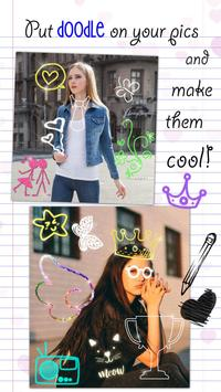 Doodle Photo Editor 😜 Stickers for Pictures screenshot 2