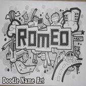 Doodle Name Art icon