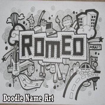 Doodle Name Art poster