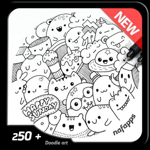 45+ Gambar Doodle Gampang Keren Gratis Terbaru