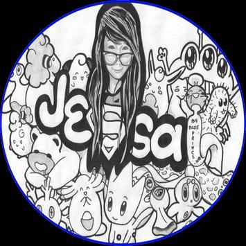 Doodle Art Name poster