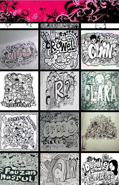 Doodle Art Name Drawings Ideas For Android Apk Download
