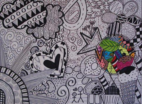 Cool Doodle Art Drawing screenshot 10