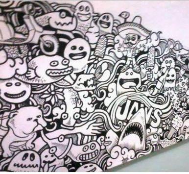 Cool Doodle Art Drawing screenshot 4