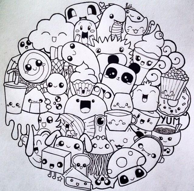 Doodle Drawing art Ideas for Android