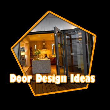 Door design ideas poster