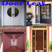 Leaf doors icon