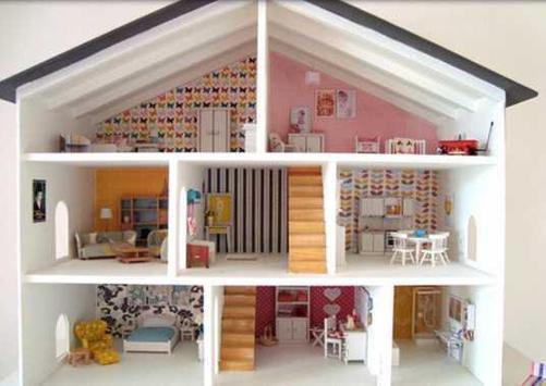 Doll House Design Idea poster