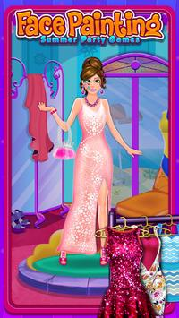 Face Painting Salon:Summer Party Games screenshot 2