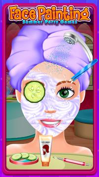 Face Painting Salon:Summer Party Games screenshot 6
