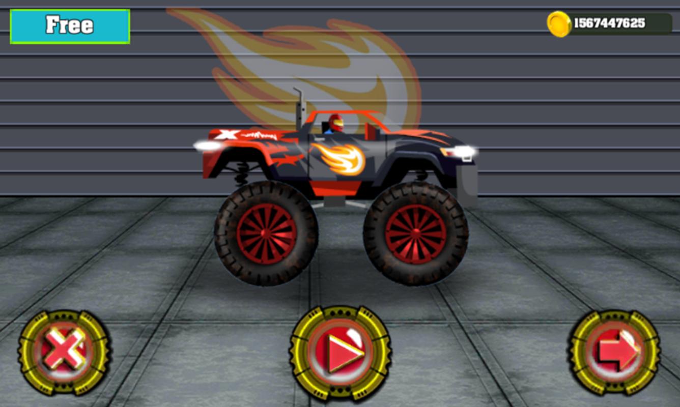 free blaze monster truck games