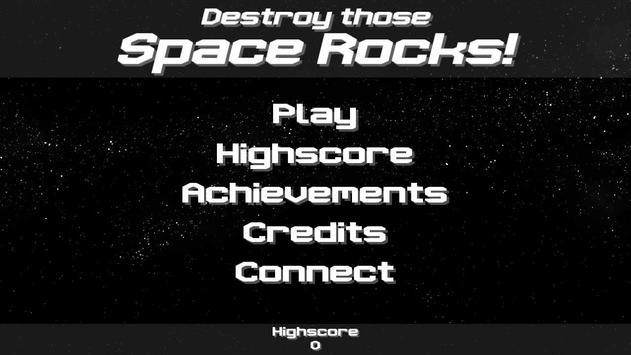 Destroy those Space Rocks! poster