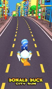 Donald Power Duck Run poster