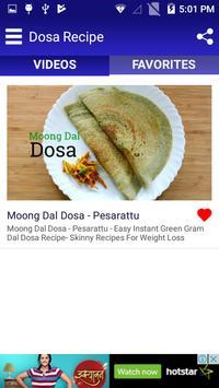 Dosa Recipe screenshot 4