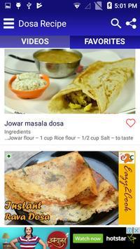 Dosa Recipe screenshot 3
