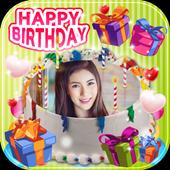 New Cake Birthday Photo Editor icon