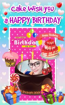 New Cake Birthday Photo Editor screenshot 1