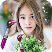 Selfie Beautiful Girly Picture icon