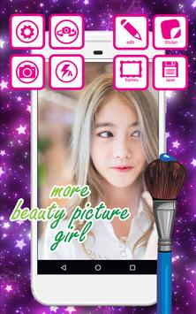 Selfie Beautiful Girly Picture poster