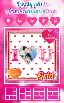 Love Photo Frames And Collage poster