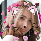 Selfie Cat Face Filters Camera icon